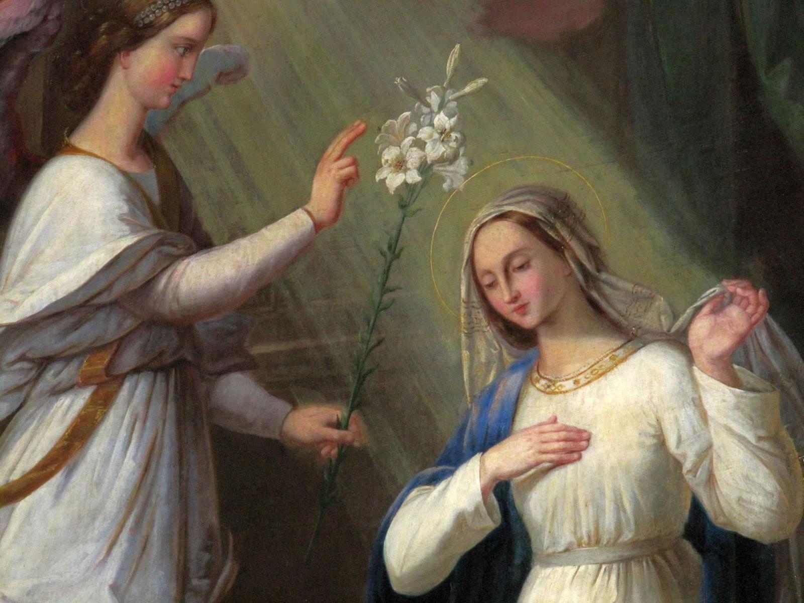 Bildergebnis für mariä verkündigung tizian